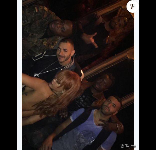 Karim Benzema et Rihanna à New York - juin 2015