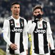 Cristiano Ronaldo et Paulo Dybala à Turin, le 29 janvier 2019.