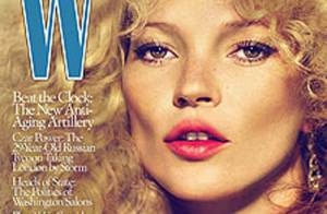 Kate Moss : une poupée chic et sexy qui arbore une folle crinière... On adhère !