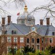 Vue du palais Huis ten Bosch, résidence du roi Willem-Alexander et de la reine Maxima des Pays-Bas, à La Haye le 20 mars 2020.