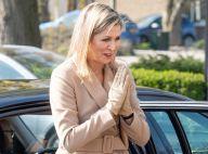 Maxima des Pays-Bas : Gants et namasté, la reine de sortie malgré le coronavirus