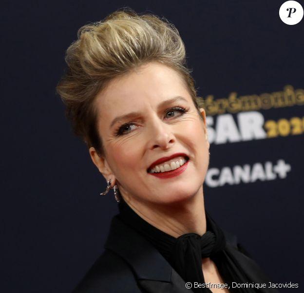 Karin Viard lors du photocall lors de la 45ème cérémonie des César à la salle Pleyel à Paris le 28 février 2020 © Dominique Jacovides / Olivier Borde / Bestimage