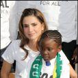 Rania de Jordanie à Wembley le 20 août pour l'opération One Goal