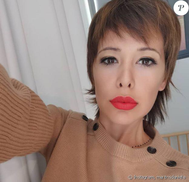 Daniela Martins dévoile sa nouvelle coiffure sur Instagram, le 11 octobre 2019