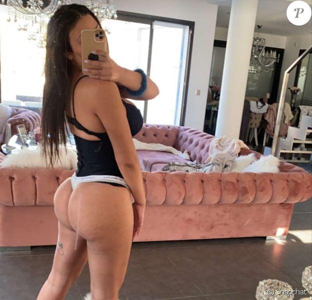 Maeva Ghennam sur Instagram le 3 avril 2020 sur Snapchat.