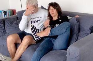 Estelle Denis taquine Raymond Domenech, à cause d'un nouveau raté...