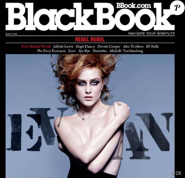 La ravissante Evan Rachel Wood pour BlackBook !