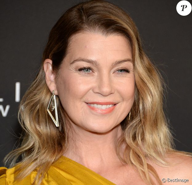 "Ellen Pompeo au photocall de la 5e édition des ""InStyle Awards"" au Getty Center à Los Angeles, le 21 octobre 2019."