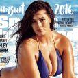 Ashley Graham en couverture du magazine Sports Illustrated Swimsuit 2016.