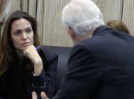 Angelina Jolie : A Bagdad, elle refuse de parler de sa prétendue grossesse...