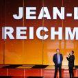 """Exclusif - Jean-Luc Reichmann et Nikos Aliagas - Enregistrement de l'émission TV """"La Chanson Secrète 2"""", qui sera diffusée le 14 septembre sur TF1. Le 25 juin 2019 © Gaffiot-Perusseau / Bestimage"""