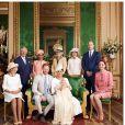 Le prince Harry et Meghan Markle lors du baptême de leur fils Archie sur Instagram, le 6 juillet 2019.