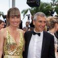 """Mélanie Page et son mari Nagui - Montée des marches du film """"Les plus belles années d'une vie"""" lors du 72ème Festival International du Film de Cannes. Le 18 mai 2019 © Borde / Bestimage"""