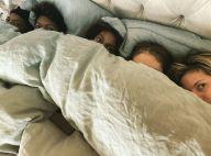 Heidi Klum : Rare photo de famille recomposée avec ses 4 enfants et son mari