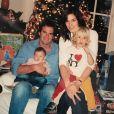 Cindy Crawford, son mari Rande Gerber et leurs deux enfants, Presley et Kaia. Photo publiée le 25 décembre 2019.