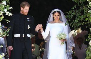 """Meghan Markle """"désarmante"""" : la créatrice de sa robe de mariée se confie"""