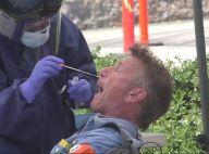Sean Penn se soumet à un test de dépistage du coronavirus en pleine rue