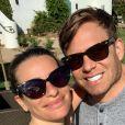 Lea Michele et son mari Zandy Reich sur Instagram, avril 2020.