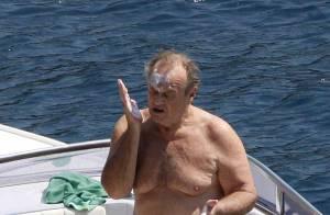 Jack Nicholson en vacances c'est pataplouf et franche rigolade... avec son fils !
