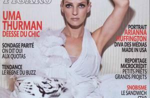 Uma Thurman : une femme à la beauté fascinante et terriblement amoureuse ! Elle se confie...