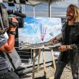 DJ Bob Sinclar lors du Grand Prix de France de Formule 1 au circuit Paul Ricard au Castellet, France, le 23 juin 2019. © Jean-Michel Le Meur/Panoramic/Bestimage  Celebs attending the FIA Formula One World Championship 2019, Grand Prix of France, at Paul Ricard racetrack in Le Castellet, France, le 23 juin 2019.23/06/2019 - Le Castellet