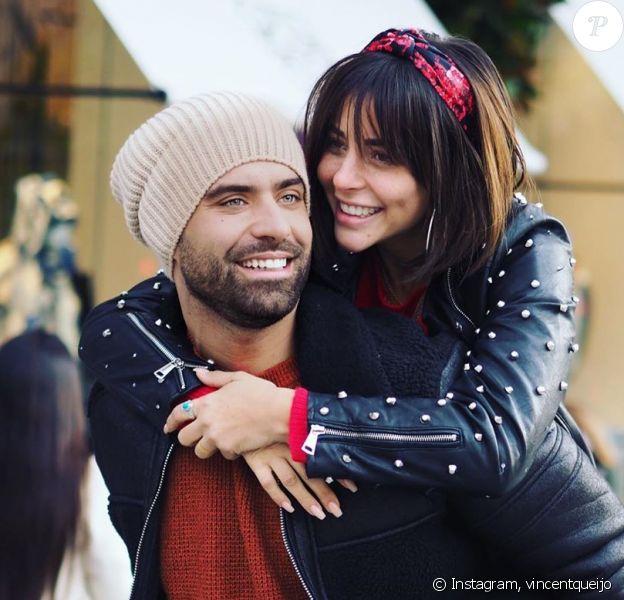 """Vincent Quejo et Rym de """"La Villa des coeurs brisés"""", sur Instagram, le 11 décembre 2019"""