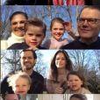 La famille royale de Suède a fêté Pâques ensemble en visio, le 12 avril 2020, en pleine période de confinement en raison de la pandémie du coronavirus, et a partagé des extraits de ces moments en famille inédits sur Instagram.