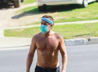 Colin Farrell : Jogging torse nu mais protégé, le sexy daddy s'entretient
