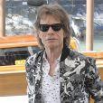 "Mick Jagger, Elizabeth Debicki et Donald Sutherland se rendent au photocall ""The Burnt Orange Heresy"" lors du 76ème Festival International du Film de Venise (Mostra), le 7 septembre 2019."