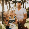 Kara Bosworth, son mari Kyle Bosworth et leur fille Decker. Novembre 2019.