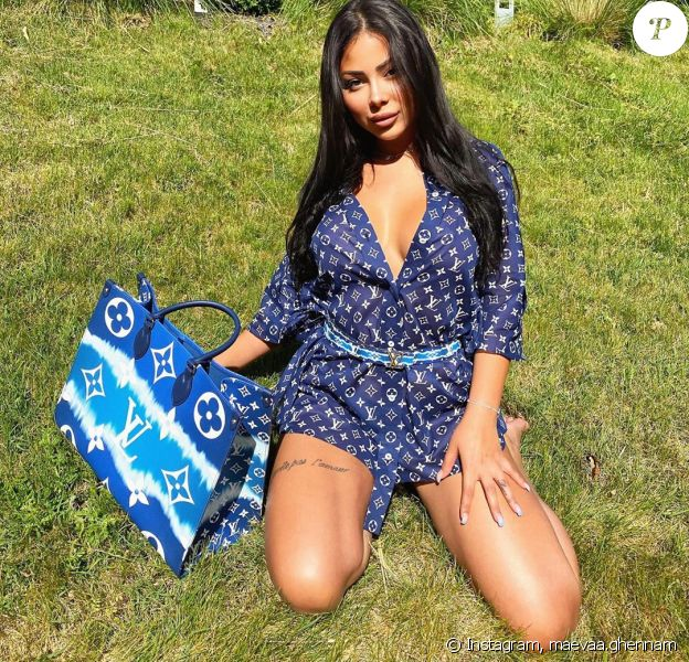 "Maeva Ghennam des ""Marseillais"" sexy sur Instagram, le 4 mai 2020"
