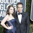 Ben Stiller et sa fille Ella Stiller - Photocall de la 76ème cérémonie annuelle des Golden Globe Awards au Beverly Hilton Hotel à Los Angeles, le 6 janvier 2019.
