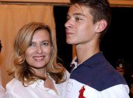 Valérie Trierweiler célébrée par son fils Léonard, avec une photo de son mariage