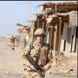 Le prince Harry avec l'armée anglaise au sud de l'Afghanistan en 2008.