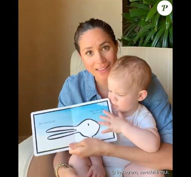 Meghan Markle et son fils Archie sur Instagram, le 6 mai 2020, jour du premier anniversaire du petit garçon.