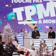 Exclusif - Cyril Hanouna et Ryad Boulanouar - Emission TPMP (Touche pas à mon poste !) à Boulogne-Billancourt le 18 décembre 2019. © Jack Tribeca/Bestimage
