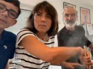 Estelle Denis et Raymond Domenech : Leur fils Merlin, 12 ans, à la télévision !