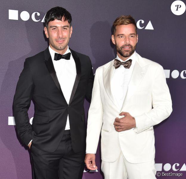 Ricky Martin et son mari Jwan Yosef à la soirée MOCA Benefit 2019 au Geffen Contemporary à Los Angeles, le 18 mai 2019