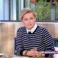 """Anne-Elisabeth Lemoine dans l'émission """"C à Vous"""" sur France 5. Le 15 mai 2020."""