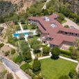 Vue aérienne de la maison de Meghan Markle et du prince Harry à Los Angeles, le 7 mai 2020. La maison appartient au producteur Tyler Perry.