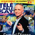 Retrouvez l'interview intégrale de Samuel Étienne dans le magazine Télé Cable Sat Hebdo, n°1568 du 18 mai 2020.