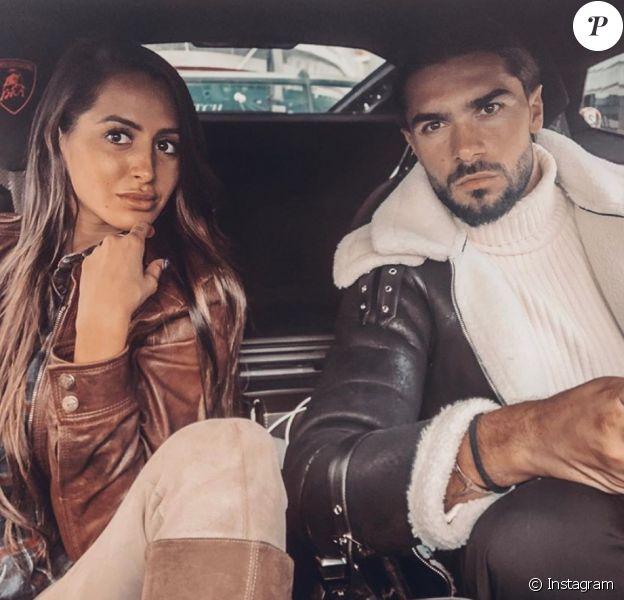 Marine El Himer et Julien Guirado le 22 octobre 2019.