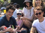 Alexandra Rosenfeld et Hugo Clément amoureux et en famille, avec Martin Weill