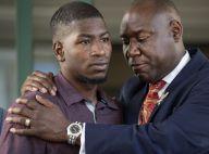 George Floyd : Son fils Quincy lui rend hommage sur le lieu du drame