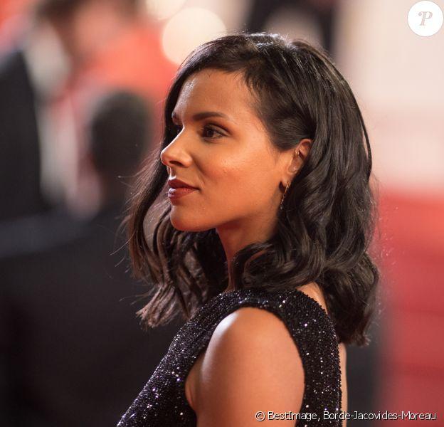 """Shy'm - Montée des marches du film """" Leto """" lors du 71ème Festival International du Film de Cannes. Le 9 mai 2018 © Borde-Jacovides-Moreau/Bestimage"""