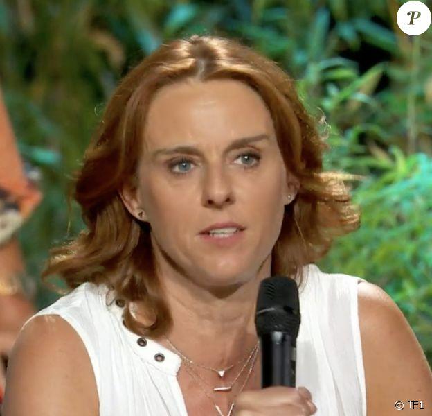 "Alexandra lors de la grande finale de ""Koh-Lanta, l'île des héros"" (TF1) vendredi 5 juin 2020."