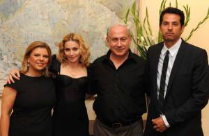 Madonna : dîner avec Benyamin Netanyahou, son épouse et son toy boy Jesus !