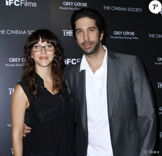 Zoe Buckman et David Schwimmer en juin 2011 à New York