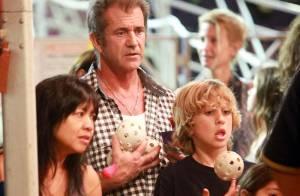 Mel Gibson et son jeune fils, Adam Sandler en famille... c'est la fiesta !