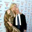 """Ian Holm et sa femme - Première du film """"Garden State"""" à Hollywood. Le 20 juillet 2004."""